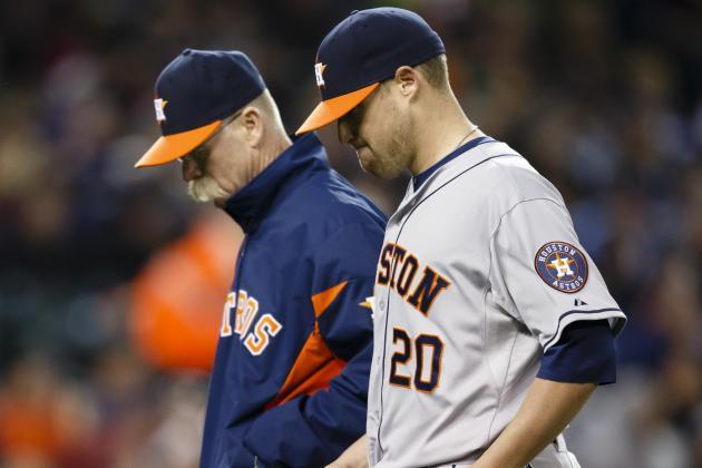 Brief Lead Evaporates as Tigers Pound Astros