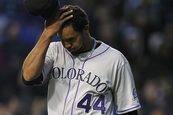 Rockies Stay in Offensive Funk, Nicasio Shelled in Loss to Cubs