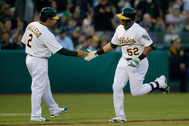 Cespedes Leaves A's Game with Stomach Illness