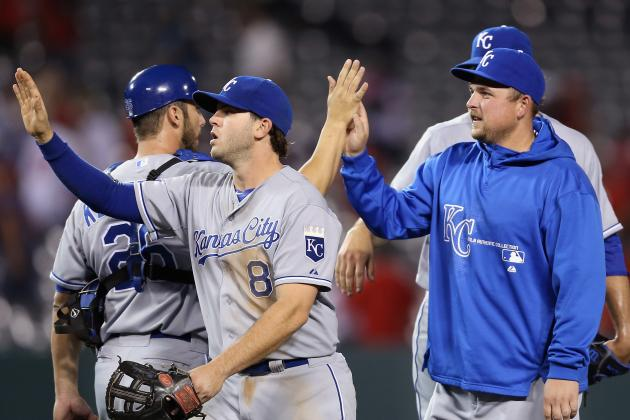 Butler Breaks out in 11-4 Win over Angels