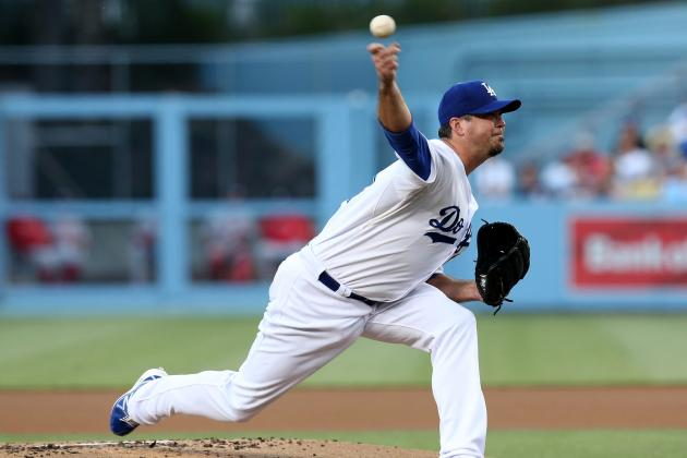 Dodgers Lose to Nats 6-2, May Lose Beckett as Well