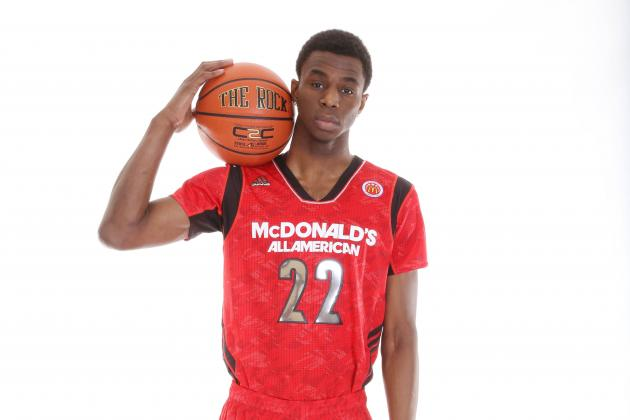 Projecting Andrew Wiggins' Freshman Season with Kansas Jayhawks