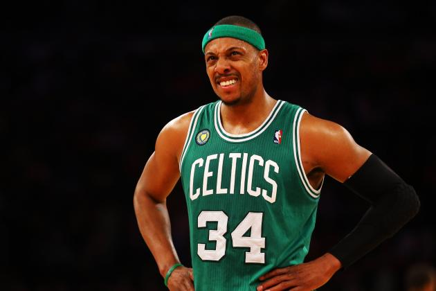 Report: People Close to Paul Pierce Think Celtics Don't Bring Him Back