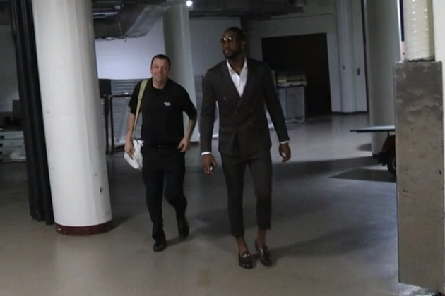 Dwyane Wade's Outrageous Capri Pants Make You Do a Double-Take