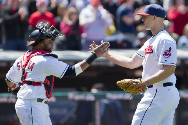 Tribe Earns Doubleheader Split Behind Masterson's Gem