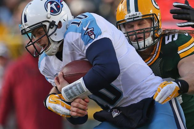 "Jake Locker's Left Shoulder ""Feels Like It's Back to Normal"""