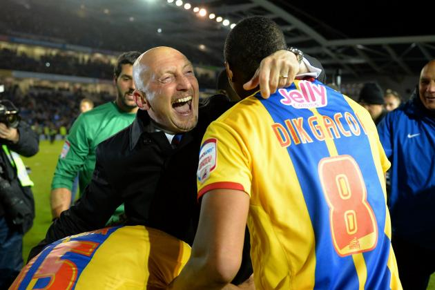 Ian Holloway Couldnt Hide His Delight After Crystal Palaces Win at Brighton