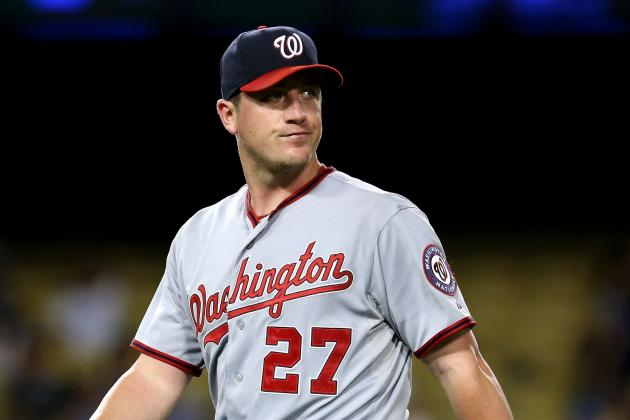 No Current Talks Between Nationals, Zimmermann