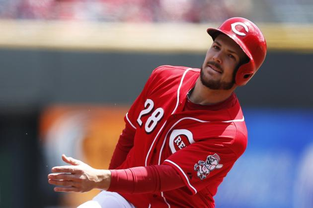 Of Chris Heisey Left Rehab Game Early