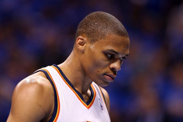 2013 NBA Playoffs: Kevin Durant Finds Life Isn't Easy Without Russell Westbrook