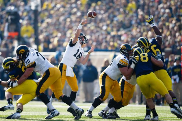 Iowa Faces a Tough Road to a Bowl Appearance