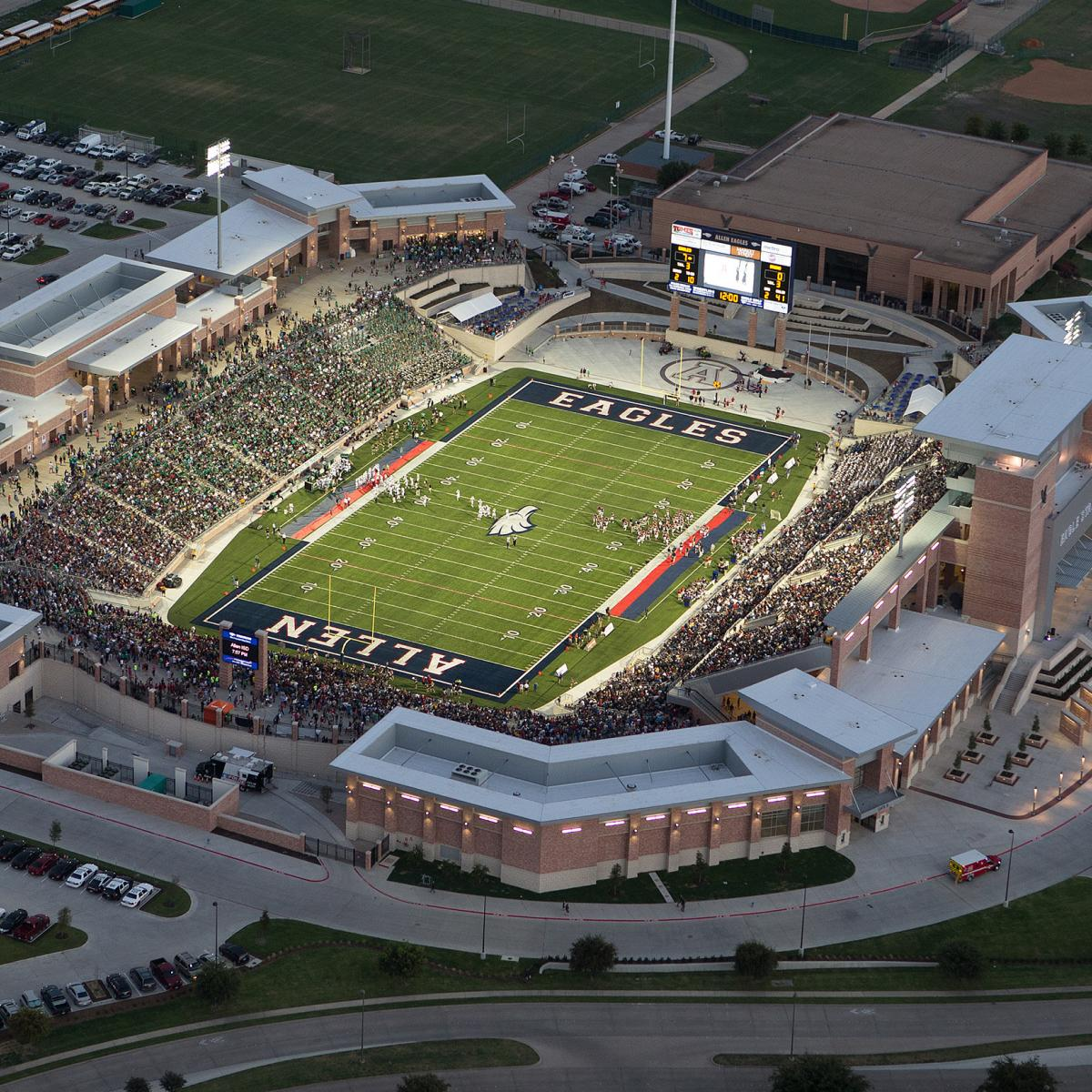 The Most Expensive High School Football Stadium in America ...