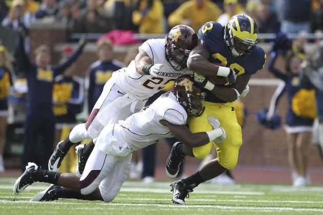 Michigan Football: Potential Trap Games for Wolverines in 2013