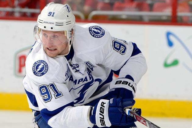 Steven Stamkos Shining for Team Canada