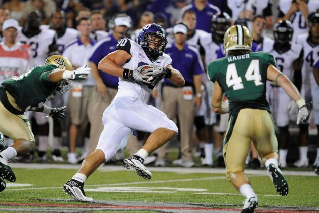 Ex-TCU TE Brock Signed by Carolina Panthers
