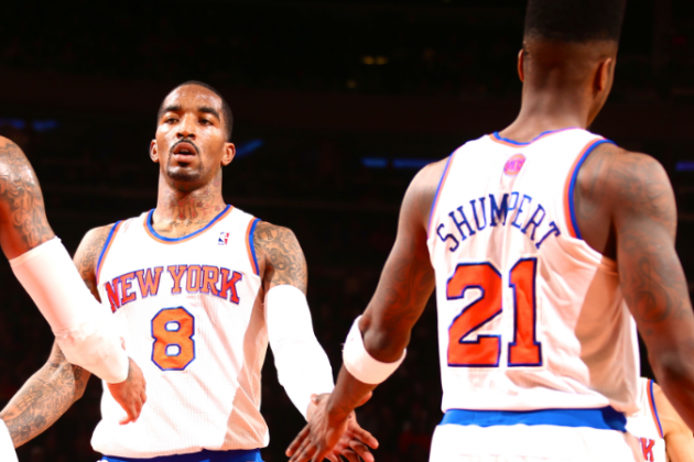 Knicks vs. Pacers: JR Smith and Iman Shumpert Questionable for Game 4