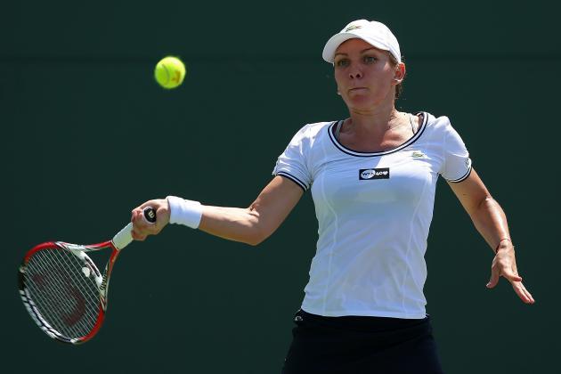 Simona Halep Stuns Aga Radwanska at Italian Open