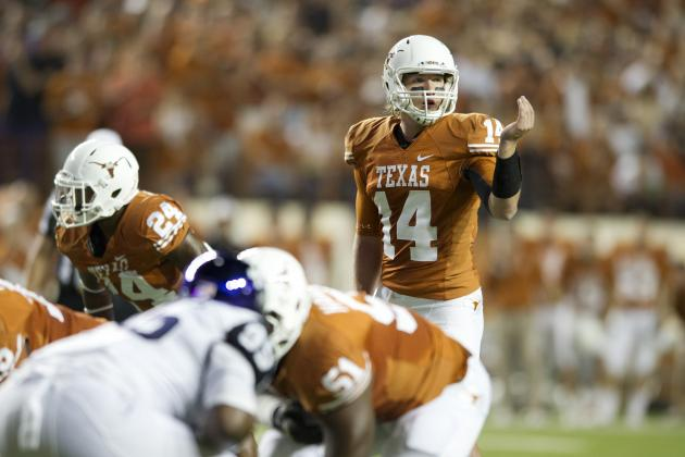 Texas QB Ash in Search of Junior Year Bump