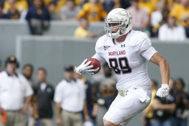 Former Terp TE Matt Furstenburg Soaking in NFL Experience with Ravens