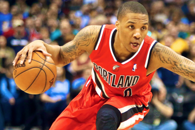 Damian Lillard Highlights 2012-13 NBA All-Rookie Team