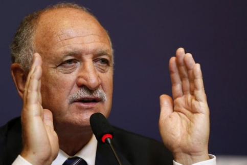 Brazil Coach Scolari: We Have a Starting Line-Up