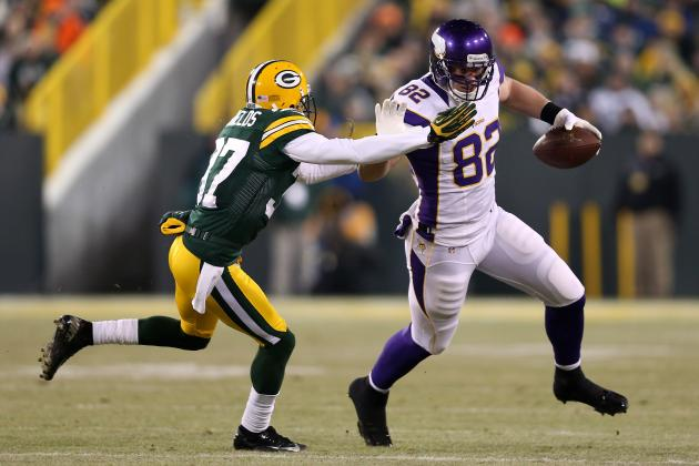 Will Kyle Rudolph Become an Elite Fantasy Football Tight End in 2013?