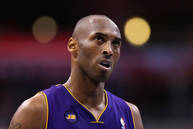 Kobe Bryant Ponders New Rosary Tattoo on Twitter, Fan Suggestions Welcomed