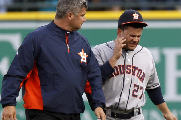 Jose Altuve out 3-7 Days After Being Placed on Bereavement List