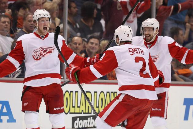 Red Wings Fine with Being Underdogs