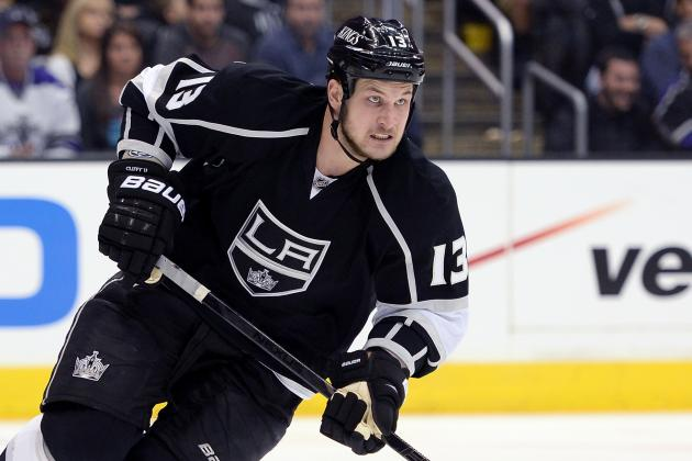 Kings Not Expected to Have Kyle Clifford for Opener Against Sharks