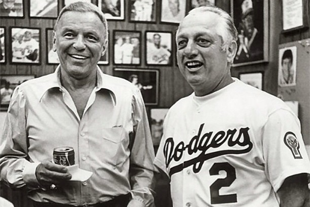 Instagram: Lasorda Honors Sinatra 15 Yrs After Death