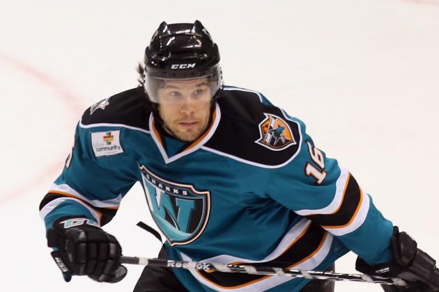 All Signs Point to Kearns, Not Kennedy, Replacing Burish on Sharks 4th Line