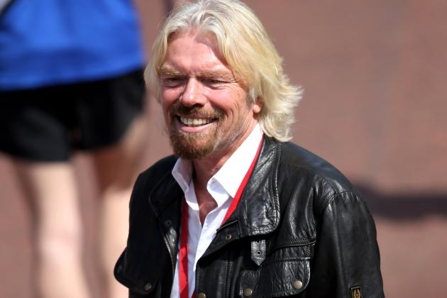 Sir Richard Branson Finally Honours F1 Bet