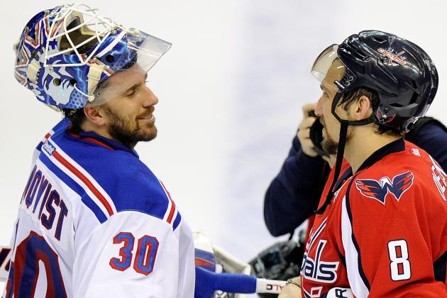 Ovechkin Credits 'Unbelievable Lundqvist for Beating Capitals