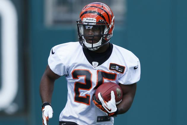 Bernard Impressive at Bengals Rookie Camp