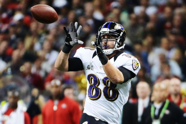 Dennis Pitta Would 'Embrace' Playing More Wide Receiver