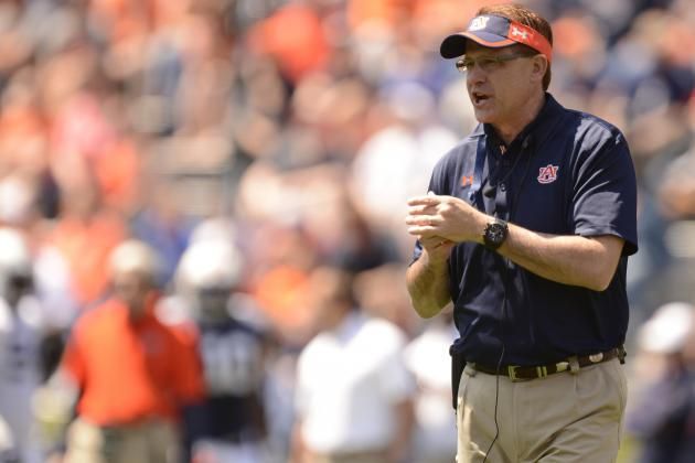 Auburn Football: Gus Malzahn Will Have Tigers Competing Stronger Than Expected