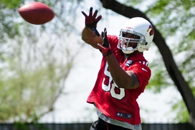 Daryl Washington Works with Second Team at Cardinals Workouts