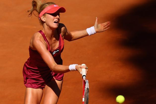 Radwanska Upset by Qualifier Halep in Rome