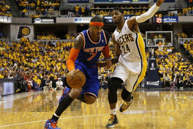 Pacers Beat Knicks 93-82