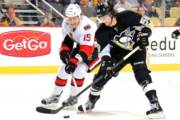 Ottawa Senators vs Pittsburgh Penguins Game 1: Live Score, Updates, Analysis