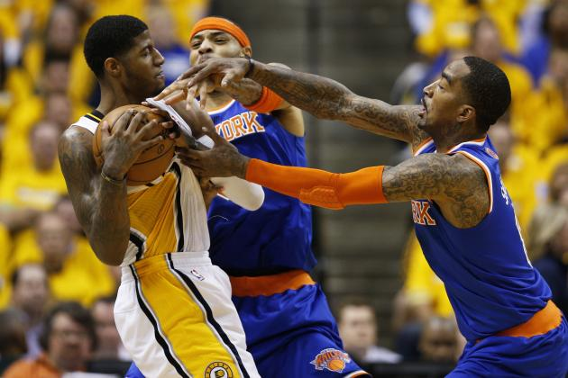 Knicks Start K-Mart, Move Pablo to Bench