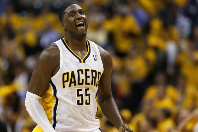 VIDEO: Roy Hibbert with the Putback as the Pacers Crash the Glass