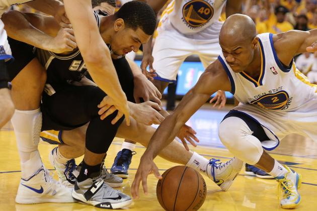 NBA Gamecast: Warriors vs. Spurs