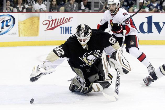 Malkin, Penguins Cruise Past Sens in Game 1