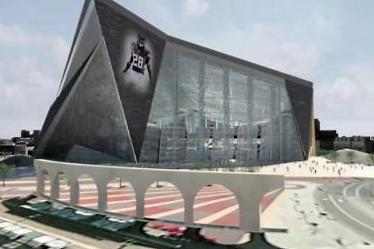 As New Vikings Stadium Takes Shape, State Funding Still Squishy