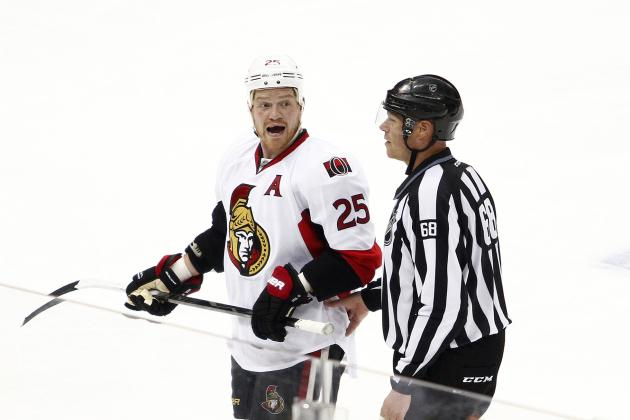 Penguins Paste Senators in 4-1 Series-Opening Win