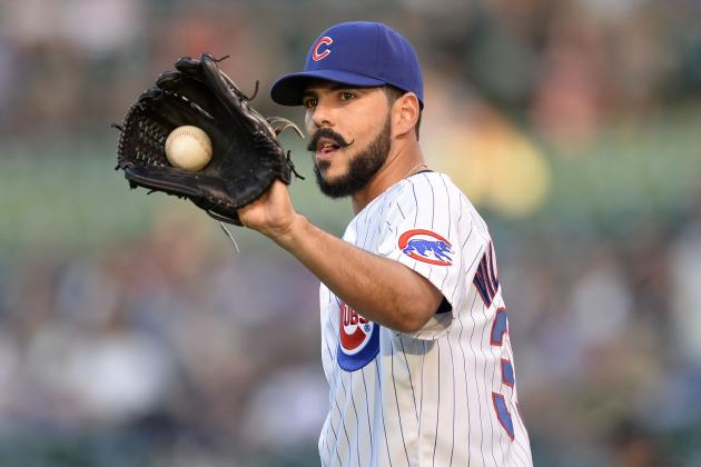 Cubs' Villanueva Rocked by Rox -- All the Way to Pen?