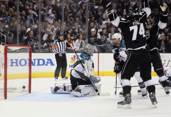 Slava Voynov's goal in the first period.