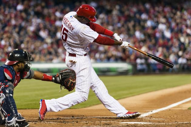 Mayberry Shines in Phillies' 3rd Straight Victory